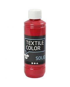 Textile Solid, Deckend, Rot, 250 ml/ 1 Fl.