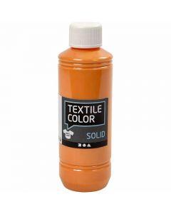 Textile Solid, Deckend, Orange, 250 ml/ 1 Fl.