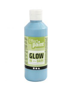 Fluoreszierende Farbe, Fluoreszierend Hellblau, 250 ml/ 1 Fl.
