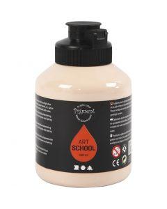 Pigment Art School-Farbe, Deckend, Hellbeige, 500 ml/ 1 Fl.