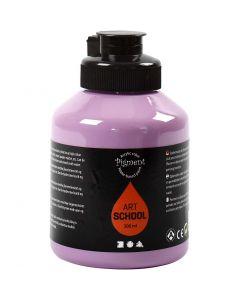 Pigment Art School-Farbe, Deckend, Flieder, 500 ml/ 1 Fl.