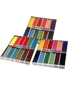 Colortime Buntstifte, Sortierte Farben, 576 Stck./ 1 Pck.