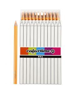 Colortime Buntstifte, L: 17,45 cm, Mine 5 mm, JUMBO, Hellbeige, 12 Stck./ 1 Pck.