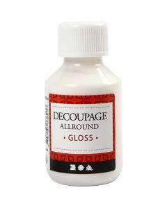 Découpage-Lack, Glänzend, 100 ml/ 1 Fl.