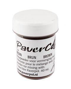 Paver Color, Braun, 40 ml/ 1 Fl.