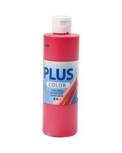 Plus Color Bastelfarbe, Primärrot, 250 ml/ 1 Fl.