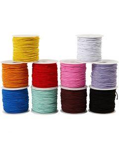 Elastikband, Stärke: 1 mm, 10x25 m/ 1 Pck.