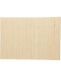 Bambusmatte zum Filzen, Größe 45x30 cm, 4 Stck./ 1 Pck.
