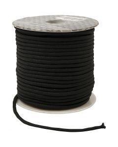 Polyester-Band, Stärke: 4 mm, Schwarz, 40 m/ 1 Rolle