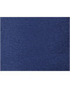 Fleece, L: 125 cm, B: 150 cm, 200 g, Blau, 1 Stck.