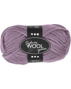 Sydney Wolle, L: 50 m, Flieder, 50 g/ 1 Knäuel