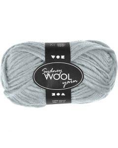 Sydney Wolle, L: 50 m, Helltürkis, 50 g/ 1 Knäuel