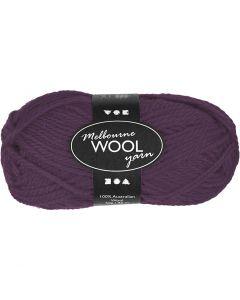 Melbourne Wolle, L: 92 m, Flieder, 50 g/ 1 Knäuel