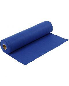 Bastelfilz, B: 45 cm, Stärke: 1,5 mm, 180-200 g, Blau, 5 m/ 1 Rolle