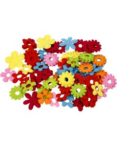 Blumen, Größe 35x45 mm, 135 Stck./ 1 Pck.