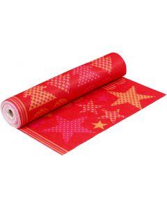 Motiv-Filz, B: 45 cm, Stärke: 1,5 mm, 180-200 g, Orange, Rot, 5 m/ 1 Rolle