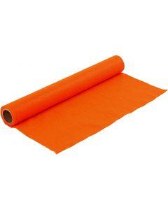 Bastelfilz, B: 45 cm, Stärke: 1,5 mm, 180-200 g, Orange, 1 m/ 1 Rolle