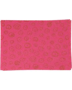 Bastelfilz, A4, 210x297 mm, Stärke: 1 mm, Pink, 10 Bl./ 1 Pck.