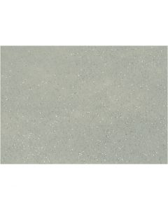 Bastelfilz, A4, 210x297 mm, Stärke: 1 mm, Grau, 10 Bl./ 1 Pck.