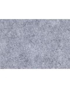 Bastelfilz, A4, 210x297 mm, Stärke: 1,5-2 mm, Meliert, Grau, 10 Bl./ 1 Pck.