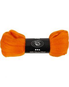 Wolle, Stärke: 21 my, Orange, 100 g/ 1 Pck.