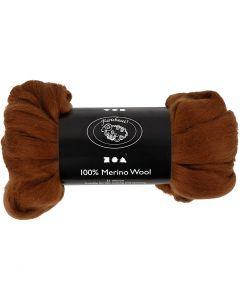 Wolle, Stärke: 21 my, Braun, 100 g/ 1 Pck.