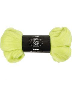 Wolle, Stärke: 21 my, Lindgrün, 100 g/ 1 Pck.