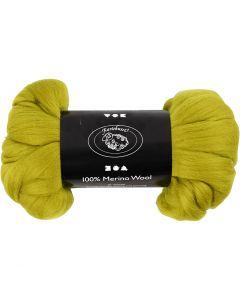 Wolle, Stärke: 21 my, Zitronengelb, 100 g/ 1 Pck.