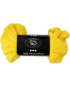 Wolle, Stärke: 21 my, Sonnengelb, 100 g/ 1 Pck.