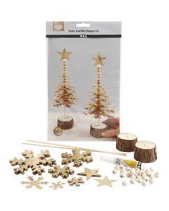 Materialset Weihnachten, Stärke: 0,55 mm, Gold, 1 Set
