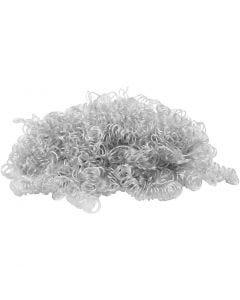 Haarlocken, Hellgrau, 15 g/ 1 Pck.