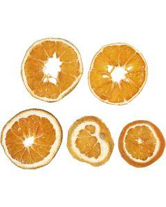Orangenscheiben, D: 40-60 mm, 5 Stck./ 1 Pck.