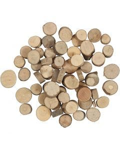 Holzscheibe, 25 g/ 1 Pck.