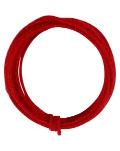 Jute-Draht, Stärke: 2-4 mm, Rot, 3 m/ 1 Pck.
