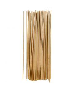 Stroh, L: 22 cm, Stärke: 1-3 mm, 50 Stck./ 1 Pck.