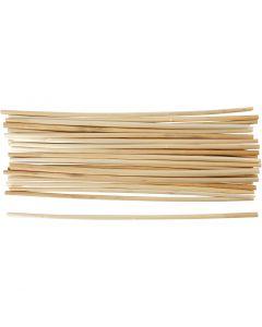 Stroh, L: 22 cm, Stärke: 3-5 mm, 50 Stck./ 1 Pck.