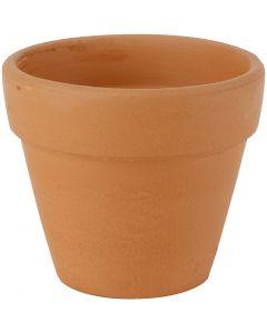 Blumentopf, H: 8 cm, D: 9 cm, 24 Stck./ 1 Box