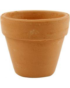 Blumentopf, H: 6,5 cm, D: 7 cm, 24 Stck./ 1 Box