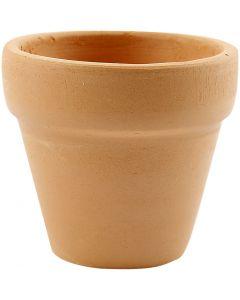 Blumentopf, H: 4,2 cm, D: 5 cm, 48 Stck./ 1 Box