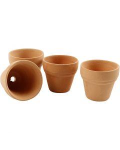 Blumentopf, H: 3,1 cm, D: 3,4 cm, 48 Stck./ 1 Box