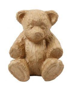 Bär, H: 18 cm, L: 15 cm, 1 Stck.