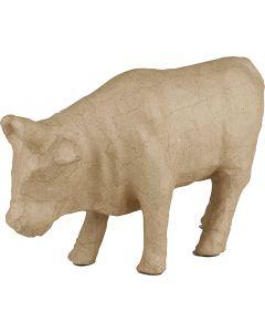 Kuh, H: 15 cm, L: 23 cm, 1 Stck.