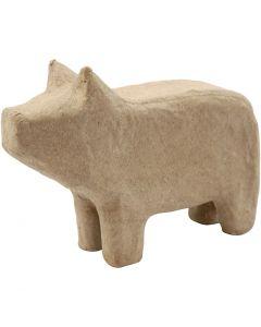 Schwein, H: 9,5 cm, L: 14 cm, 1 Stck.