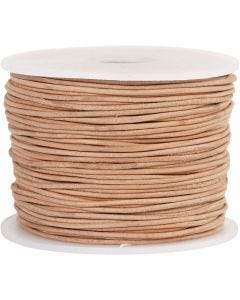 Lederband, Stärke: 1 mm, 50 m/ 1 Rolle