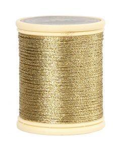 DMC Metallfaden, Stärke: 0,36 mm, Gold, 40 m/ 1 Rolle