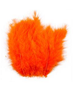 Federn, Größe 5-12 cm, Orange, 15 Stck./ 1 Pck.