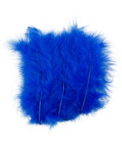 Federn, Größe 5-12 cm, Blau, 15 Stck./ 1 Pck.