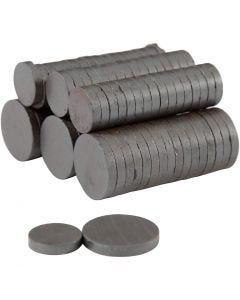 Magnete, D: 14+20 mm, Stärke: 3 mm, 2x250 Stck./ 1 Pck.