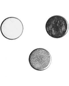 Supermagnet, D: 5 mm, Dicke 2 mm, 10 Stck./ 1 Pck.