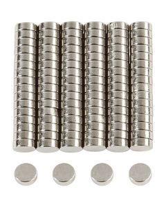 Supermagnet, D: 5 mm, Stärke: 2 mm, 100 Stck./ 1 Pck.